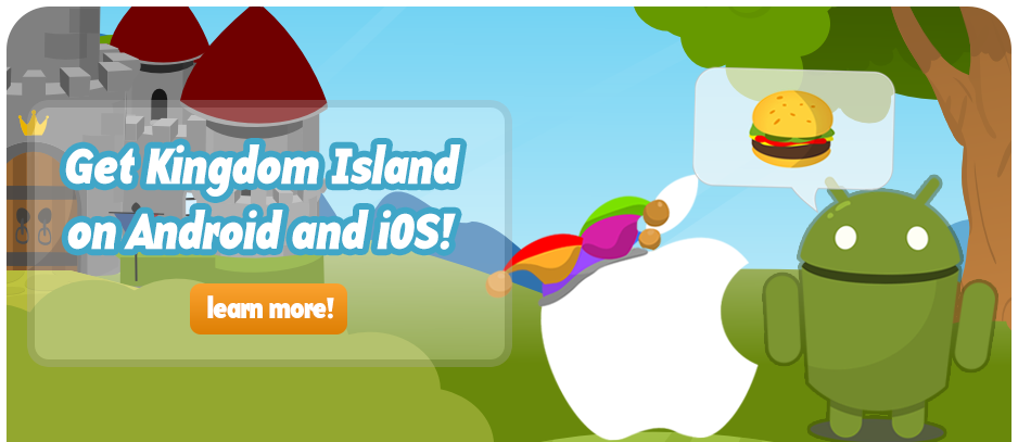 Kingdom Island on iOS and Android!